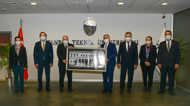 Visit to Our University from Minister of Industry and Technology Mustafa Varank Görseli
