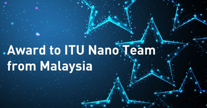Award to ITU Nano Team from Malaysia Görseli