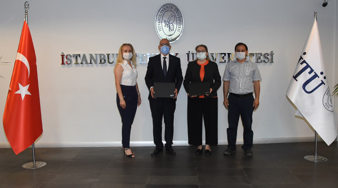 Cooperation protocol between ITU and E.C.A Elginkan Anatolian High School Görseli