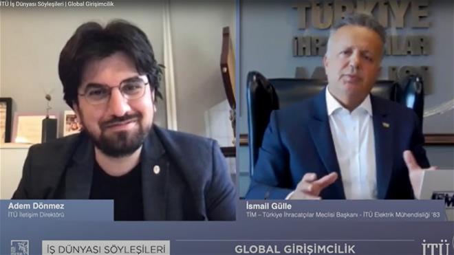 Talk about Global Entrepreneurship with Our Graduate İsmail Gülle Görseli