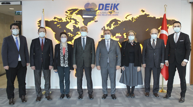 İTÜ and DEİK signed a protocol for university-industry cooperation Görseli