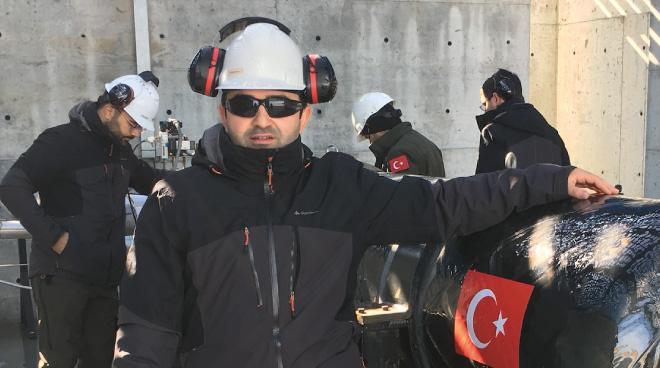Our Ph.D. Student Mehmet Kahraman Received Best Paper Award Görseli