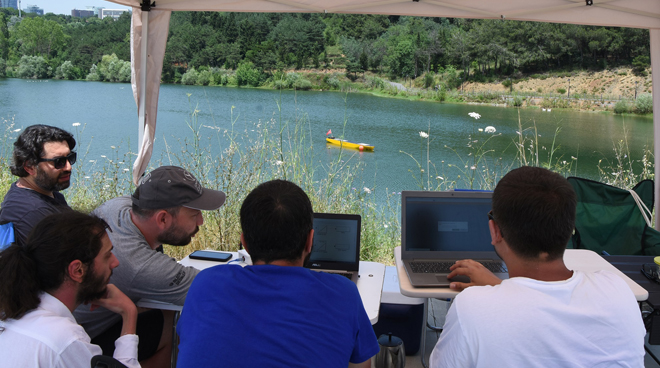 Üniversitemizde Otonom Gemi Teknolojisine Yönelik İlk Adımlar Görseli