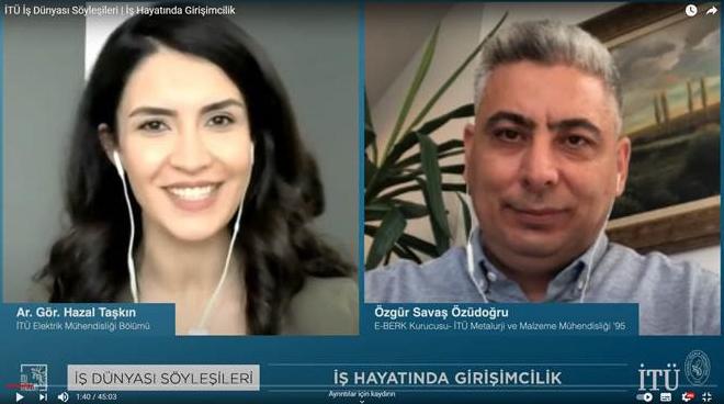 Tips for Entrepreneurship in Business Life from Our Graduate Özgür Savaş Özüdogru Görseli