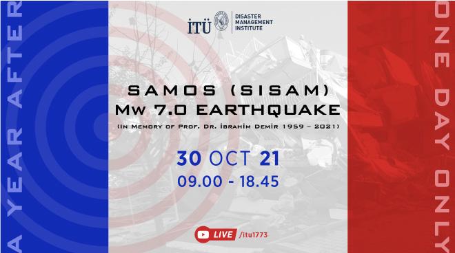Samos (Sisam) Depreminin Yıldönümünde İTÜ'den Uluslararası Sempozyum Görseli