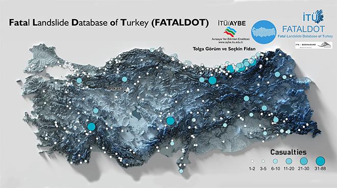 Türkiye'nin Ölümcül Heyelan Olayları Veri Tabanı İTÜ'de Oluşturuldu Görseli