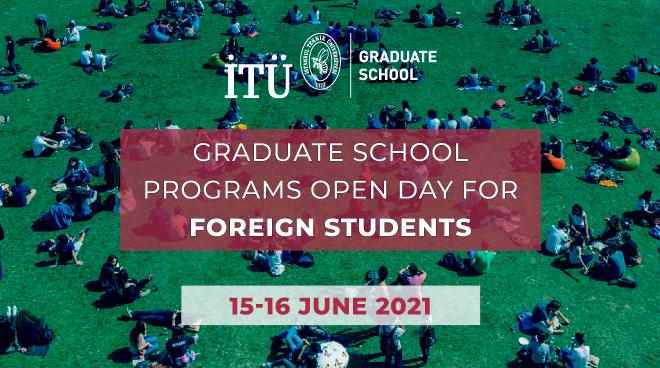 ITU Graduate Education Open Days Start Görseli