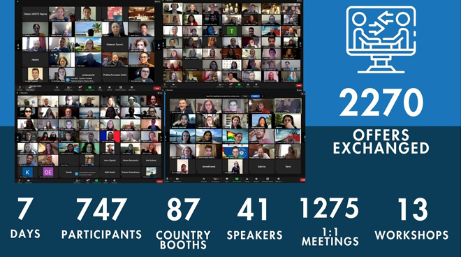 74. IAESTE Genel Konferansı Çevrimiçi Gerçekleştirildi Görseli