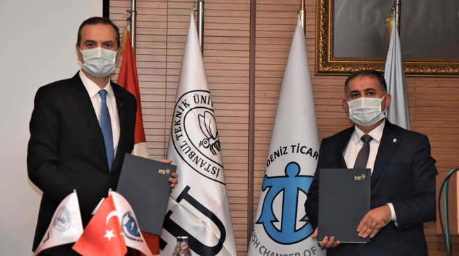 Cooperation Protocol Signed Between İTÜ and Turkish Chamber of Shipping Görseli